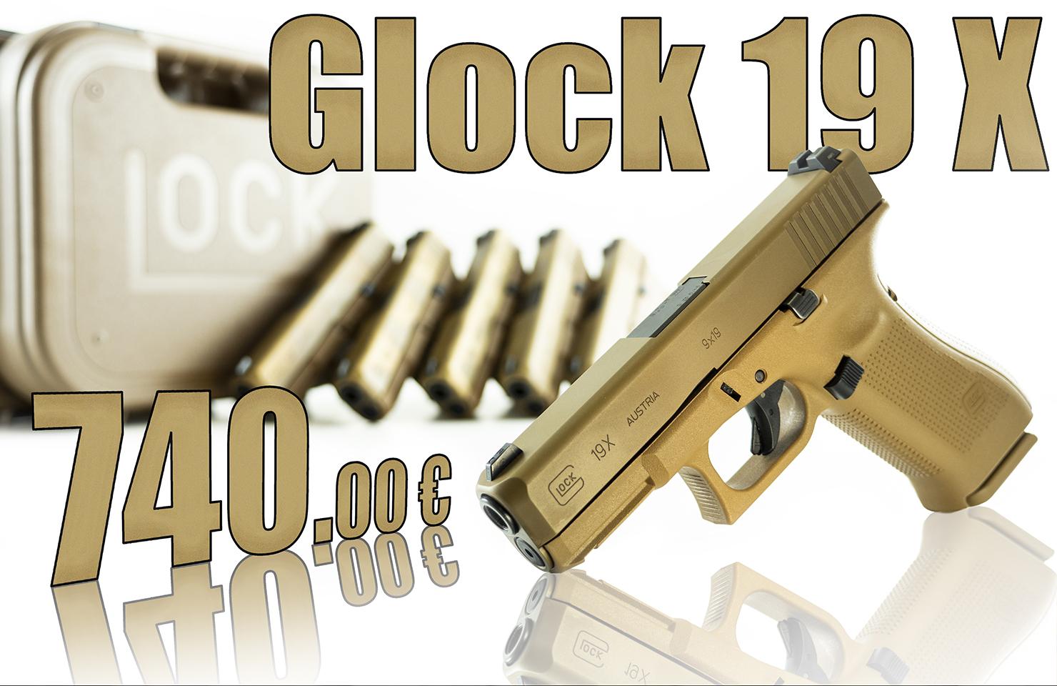 glock 19x terminé