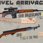 dragunov & sks v3 commande
